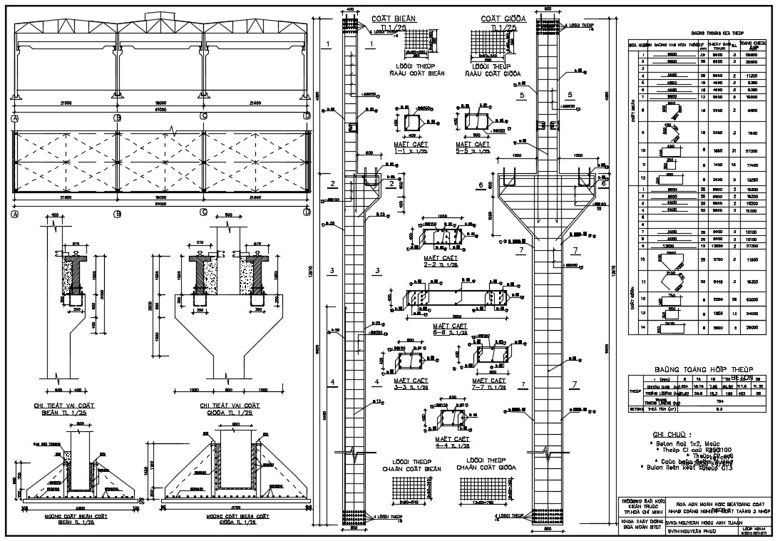 【CAD Details】Design of Bridge Structures CAD Drawings