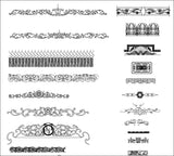 ★Architecture Decorative CAD Blocks Bundle V.6-☆Architectural Decorative Elements☆ - Architecture Autocad Blocks,CAD Details,CAD Drawings,3D Models,PSD,Vector,Sketchup Download