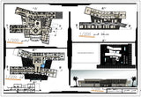 【CAD Details】Architectural drawing of Emergency Hospital design drawing