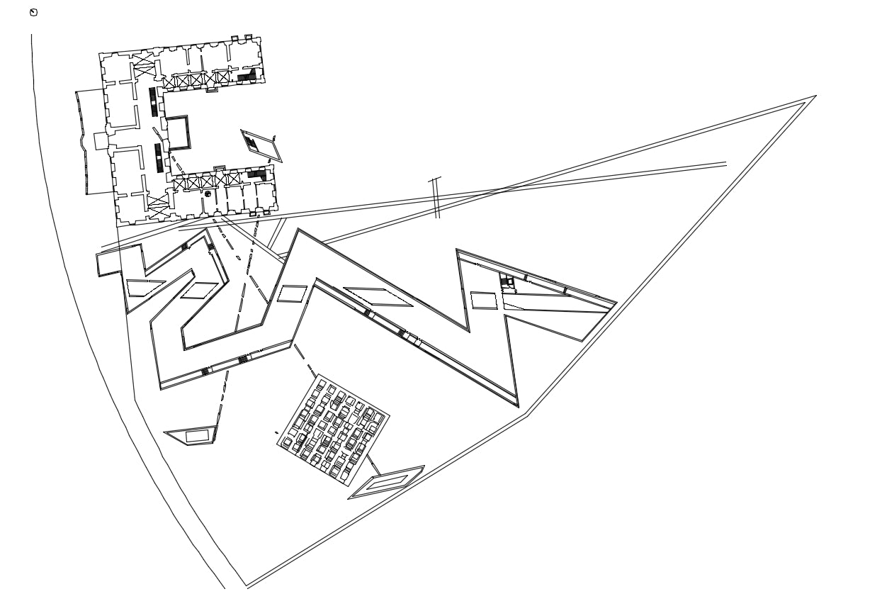 【Famous Architecture Project】Judisches Museum-Architectural CAD Drawings