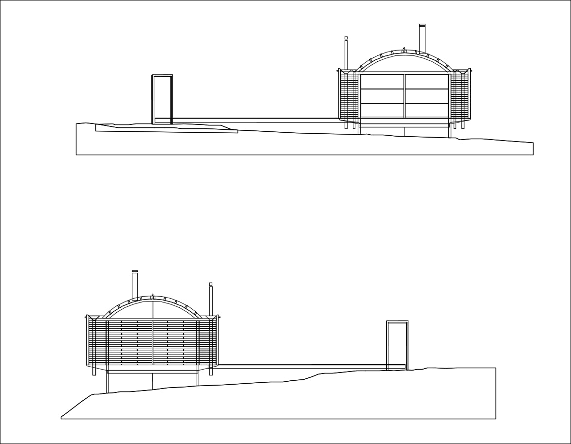 【Famous Architecture Project】Ball-Eastaway House-Architectural CAD Drawings