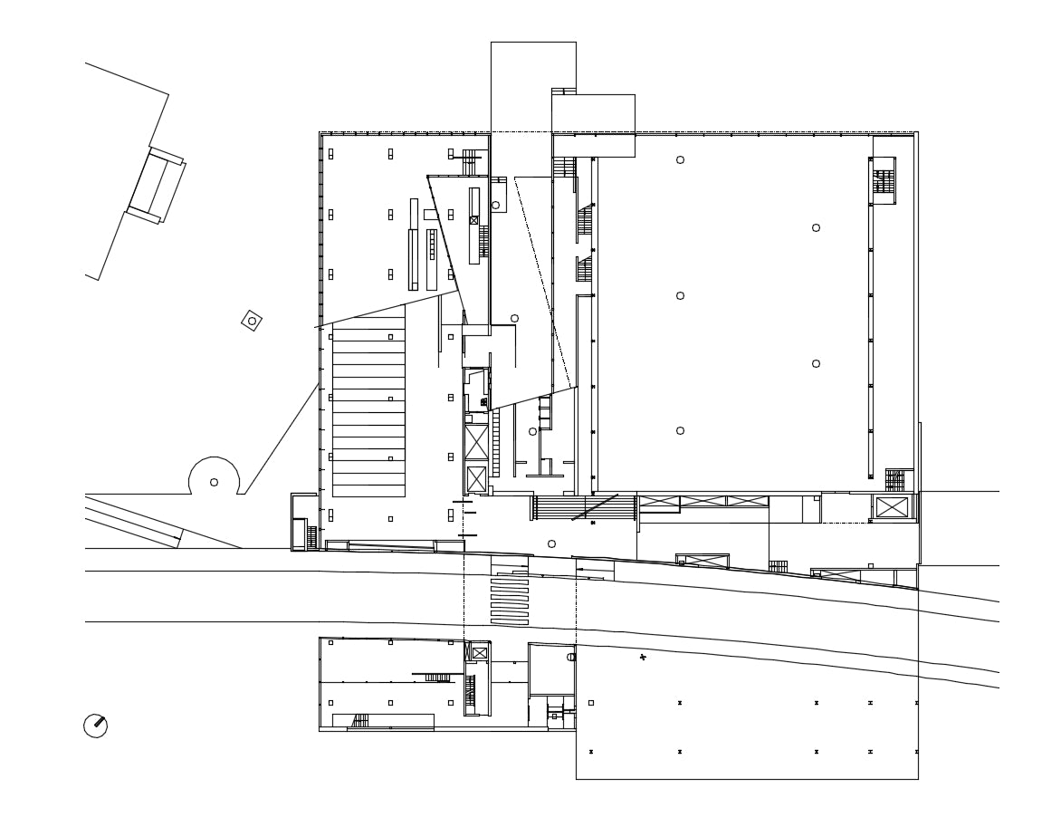 【Famous Architecture Project】Kunsthal -Rem Koolhaas-Architectural CAD Drawings