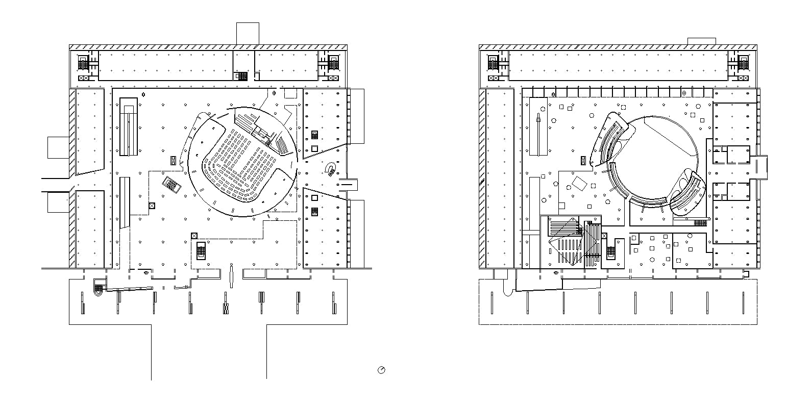 【Famous Architecture Project】Le Corbusier-Palace of Assembly-Architectural CAD Drawings