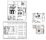 【Architecture CAD Projects】Restaurant Design CAD Blocks,Plans,Layout