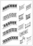 ★Architecture Decorative CAD Blocks V.8-☆Architectural Decorative Stairs - Architecture Autocad Blocks,CAD Details,CAD Drawings,3D Models,PSD,Vector,Sketchup Download
