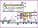 【CAD Details】Building Section design CAD Drawings