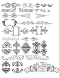 ★Architecture Decorative CAD Blocks V.5-☆Architectural decorative elements - Architecture Autocad Blocks,CAD Details,CAD Drawings,3D Models,PSD,Vector,Sketchup Download