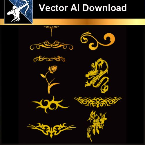 ★Vector Download AI-Tatoo Design Vector V.2