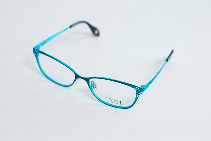 Fysh  UK Model 3555 C566 Teal Size 53/16