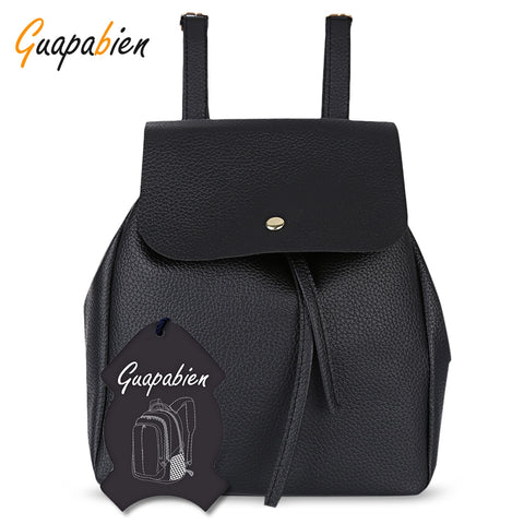 Guapabien Preppy Style Mini Drawstring Backpack for Women-Women's Backpacks-The Top Daily Deals