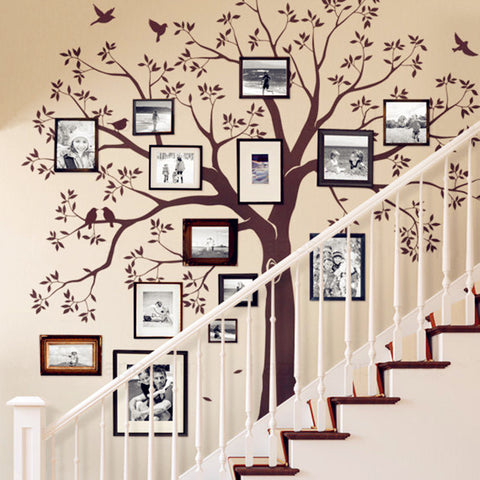 Wall Decal Sticker Staircase Family Tree-The Top Daily Deals