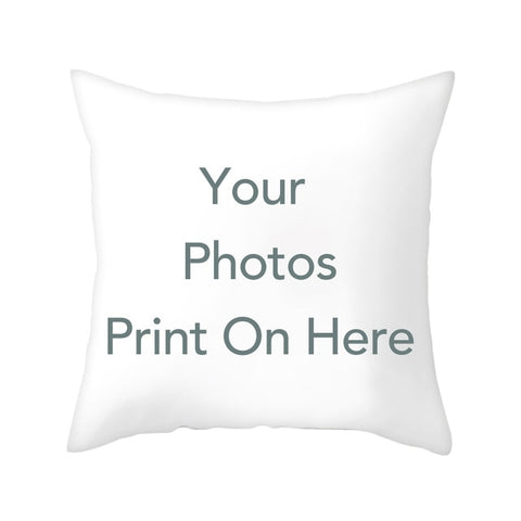 Customize Cushion Throw Pillow Cover