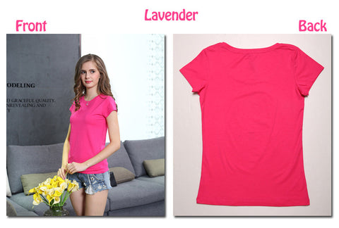 High Quality 18 Color Plain T Shirt-The Top Daily Deals