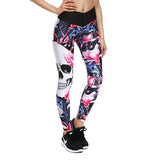 iFRIGO™ 3D Colorful punk skull leggings-The Top Daily Deals