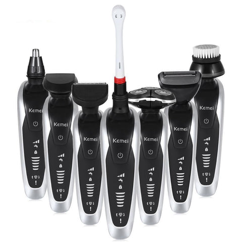 7 in 1 Men's 3D Electric Razor, Trimmer & Brush Kit-Must Have-The Top Daily Deals