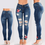 Women Stretch High Waist Skinny Jeans-The Top Daily Deals