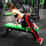 Women Laser Stripe Light Fitness Leggings-WOMEN PANT-The Top Daily Deals