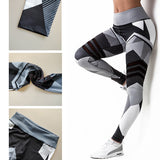Women Laser Stripe Light Fitness Leggings 50% OFF-WOMEN PANT-The Top Daily Deals