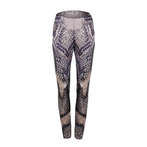 Snake Printing Fitness Leggings For Women-Womens Leggings-The Top Daily Deals