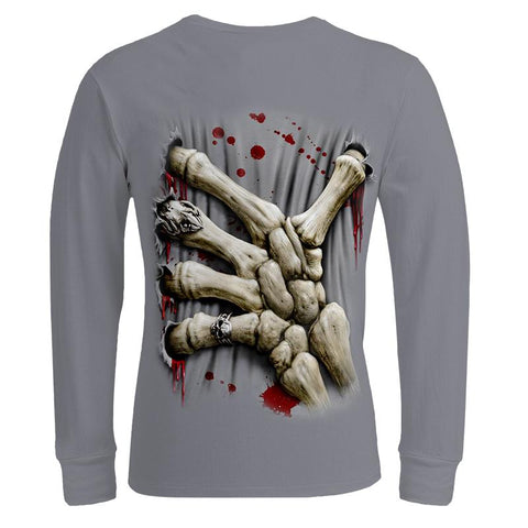 Skull Hand Sweathshirt-The Top Daily Deals