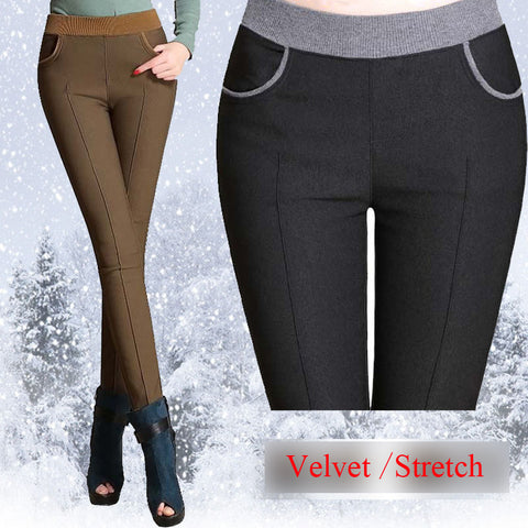 Women Pencil Elastic Waist Pants-The Top Daily Deals