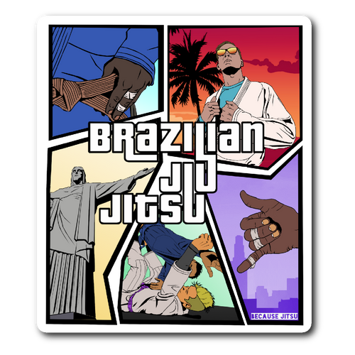 GTA BJJ - Sticker -
