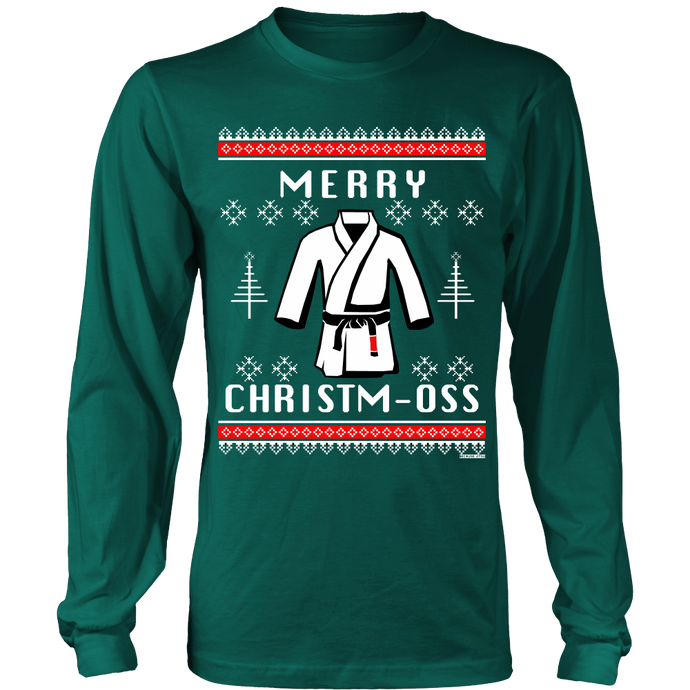 Merry Christm-Oss - Green -