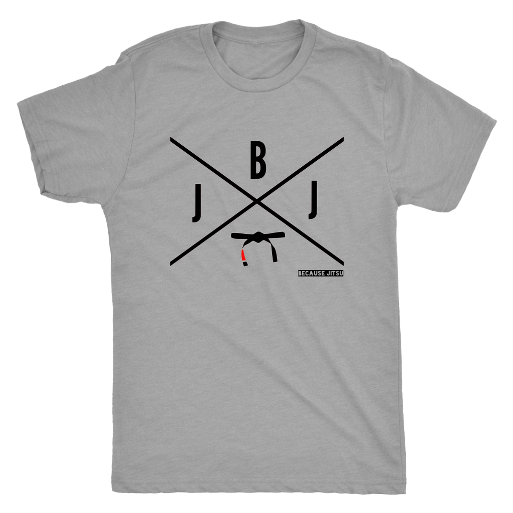 BJJ-X - Grey Men's T-Shirt -