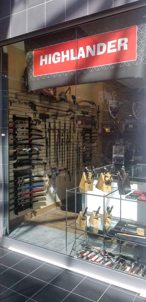 Highlander Knives Washington Square Mall Store Now Open!