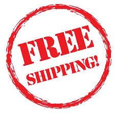 "Get free shipping on orders over 50 dollars! Enter code ""shipfree"""