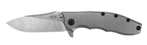 Zero Tolerance 0562TI, CPM 20CV, Drop-Point, KVT ball bearing flipper, Zero Tolerance