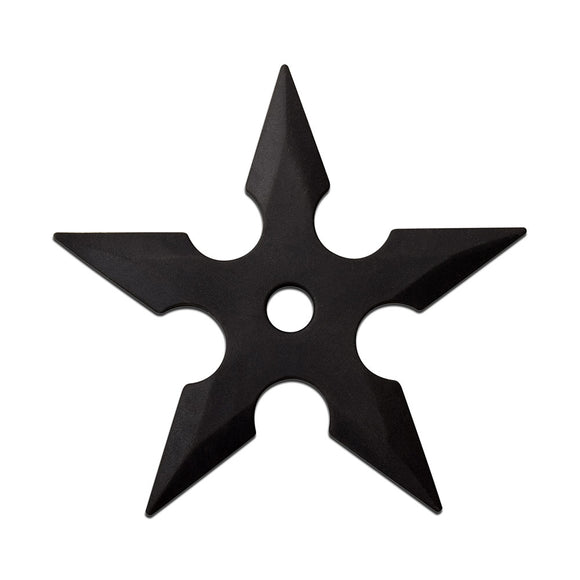Rubber throwing star