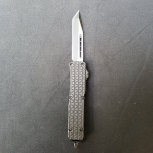 Atomic Mini OTF, Tanto Blade, Automatic, Triangle Pattern Handle