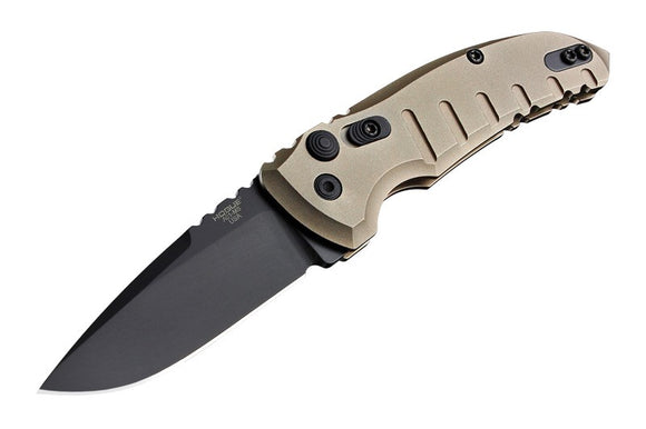 Hogue Knives A01 Microswitch Automatic Knife Flat Dark Earth (2.6
