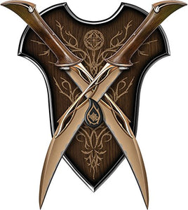 The Lord of the rings, The Hobbit' Fighting Knives of Tauriel