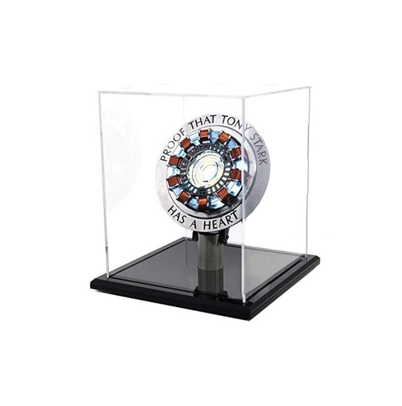 Marvel 1:1t Iron Man Arc Reactor MK1 Finished produc Parts Model Led Light (with Display Box)