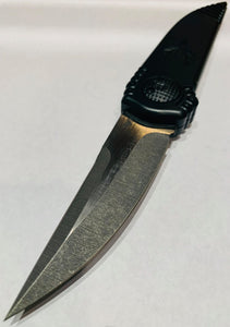 "Paragon Phoenix Knife Black (3.8"" Two-Tone Satin DE)"