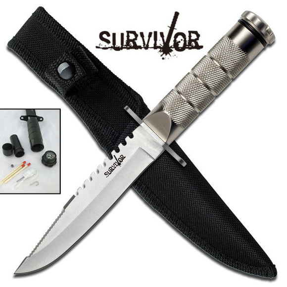 SURVIVOR HK-695 SURVIVAL KNIFE 9.5
