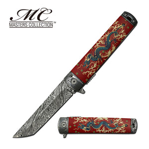 MASTERS COLLECTION MC-A049RD SPRING ASSISTED KNIFE