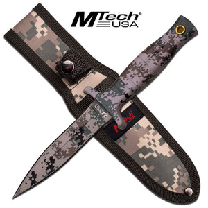 "MTech USA MT-097DG FIXED BLADE KNIFE 9"" OVERALL"