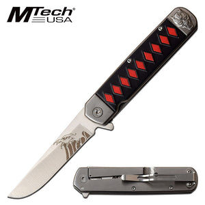 MTECH USA MT-A1099RD SPRING ASSISTED KNIFE