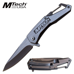 MTECH USA MT-A1144GY SPRING ASSISTED KNIFE GRAY