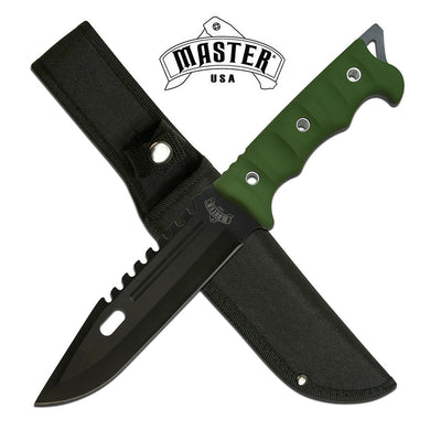 MASTER USA MU-20-02GN FIXED BLADE KNIFE