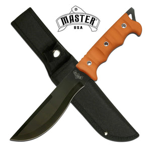 MASTER USA MU-20-02OR FIXED BLADE KNIFE