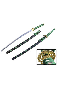 "41"" 1045 Carbon Steel Samurai Sword with Engraved Blade"