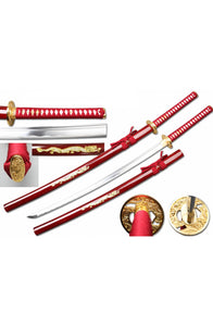 "40 1/2"" 1045 Hand Forge dragon Samurai Sword"
