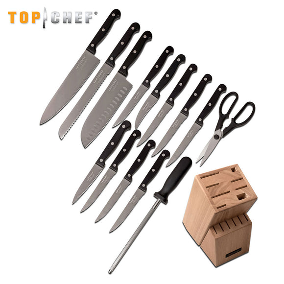 TOP CHEF® CLASSIC 15-PIECE BLOCK SET