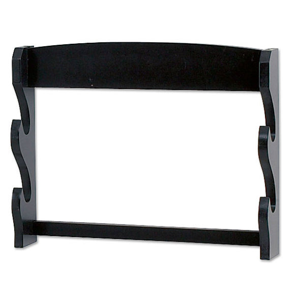 SWORD STAND 2-TIERS WALL MOUNT SWORD STAND