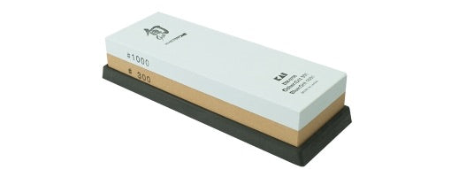 SHUN COMBO WHETSTONE DM0708 300/1000-GRIT COMBINATION WHETSTONE