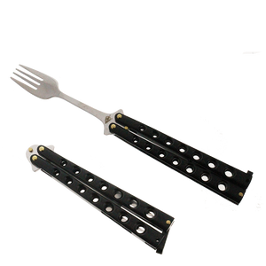 "3.75"" Butterfly Fork, Training knives"